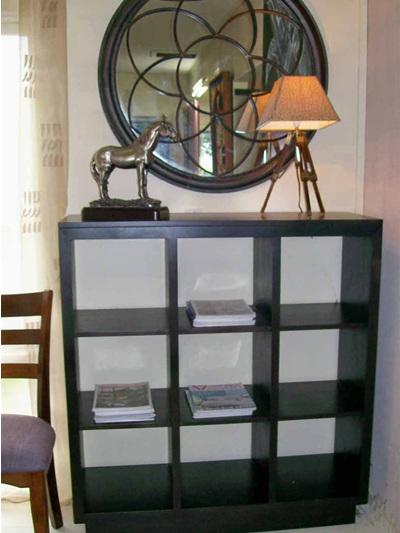 Roma Nine Bay Display Bookcase
