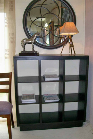 Roma Nine Bay Display Bookcase