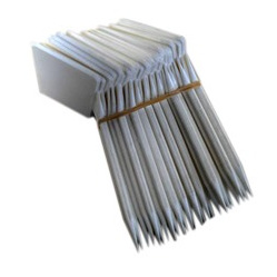 Display Label 93mm x 55mm Header - 120mm Stake 25 Per Pack