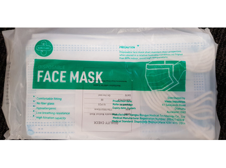 Disposable Surgical 3ply Face Masks 10 pk