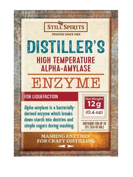 Distiller's Enzyme - Alpha-amylase 12g