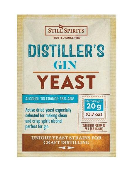Distiller's Yeast - Gin 20g