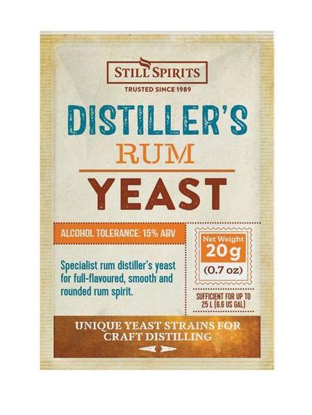 Distiller's Yeast - Rum 20g