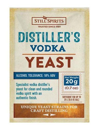 Distiller's Yeast - Vodka 20g