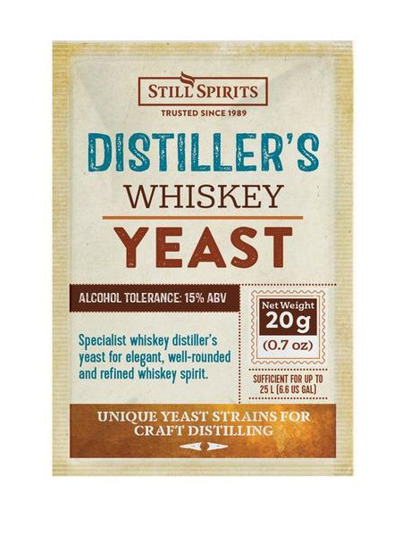 Distiller's Yeast - Whiskey 20g