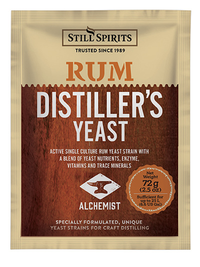Distillery Yeast - Rum