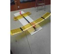 "Dixielander 60"" 2.5 - 3.5 cc  laser cut kit"