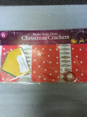 DIY Cristmas crackers - pack of 6 - 1 designs available