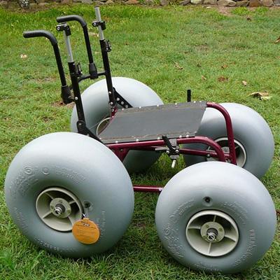 DIY Mobile All-Terrain Beach Wheelchair Kit