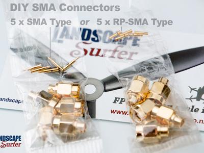 DIY SMA Male Connectors - 5 Pack