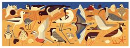 Djeco Gallery 1000 Piece Jigsaw Puzzle:  Birds