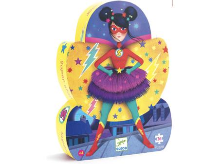 Djeco Superstar 36 Piece Puzzle