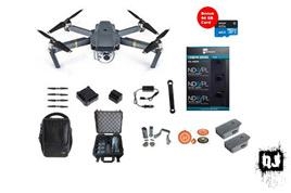 DJI Mavic Pro Fly More Combo Super Pack with over $1,200 of extras