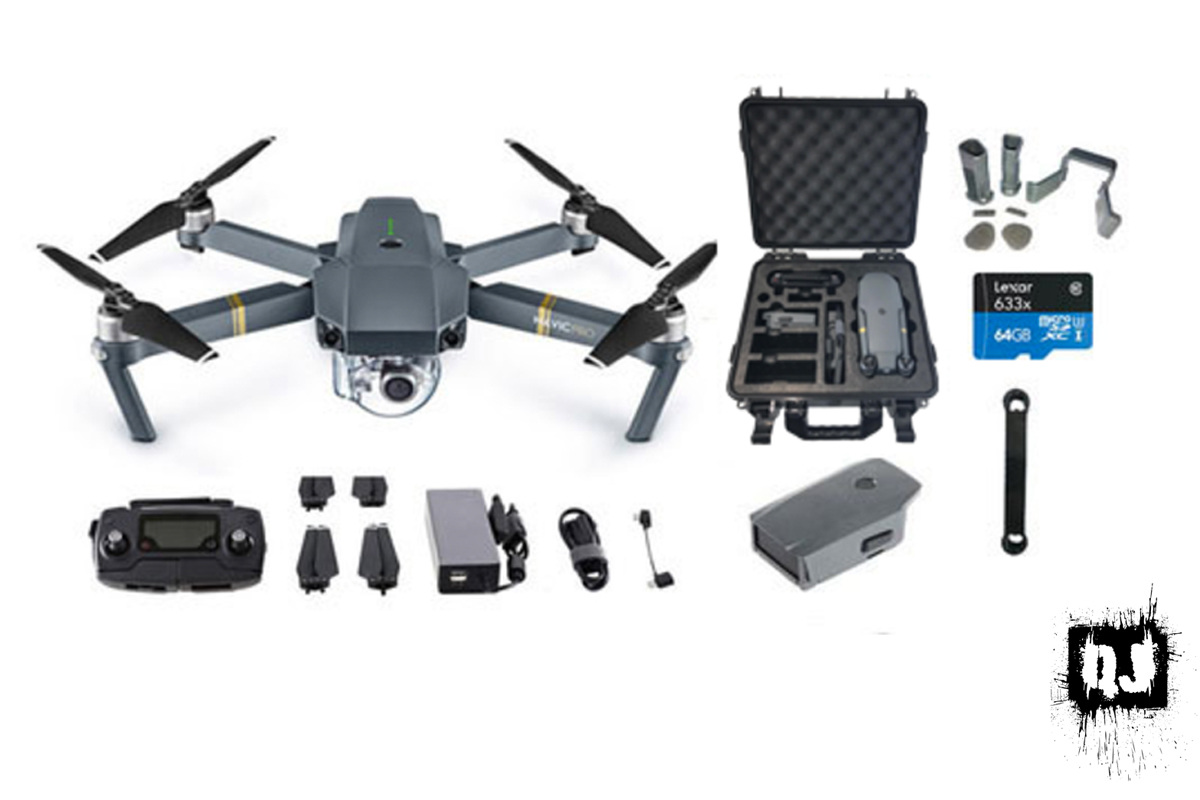 dji mavic pro travel combo with extra battery quad junkie. Black Bedroom Furniture Sets. Home Design Ideas