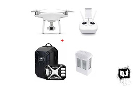 DJI Phantom 4 Pro with 1 Extra Battery & Hardshell Backpack