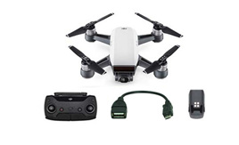 DJI Spark Essential Combo with Controller & OTG Cable