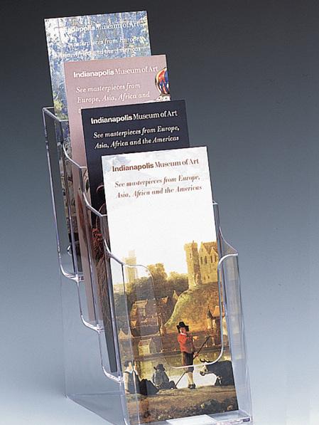 DLE Brochure Holder 4 Pocket 77701