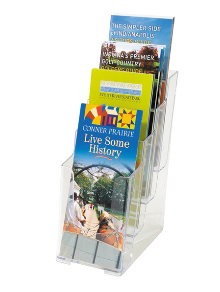 DLE Brochure Holder - Multi Pocket