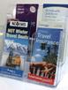 DLE, Multi Pocket Brochure Holder, 2 tier x 2 wide 77864