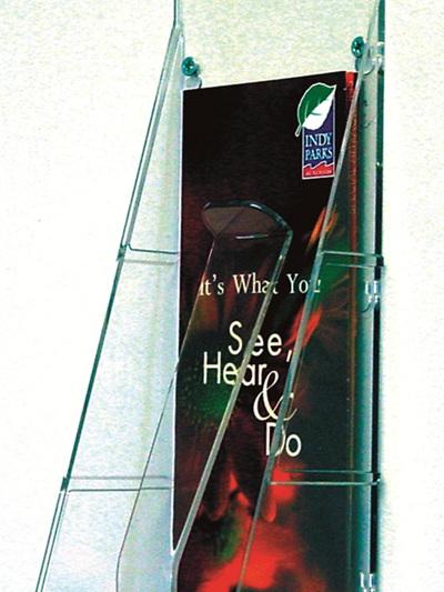 DLE Single Brochure Pocket Potrait 55601