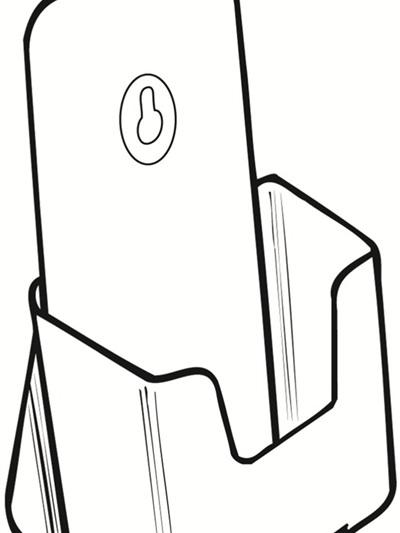DLE Single Brochure Pocket Potrait 77501