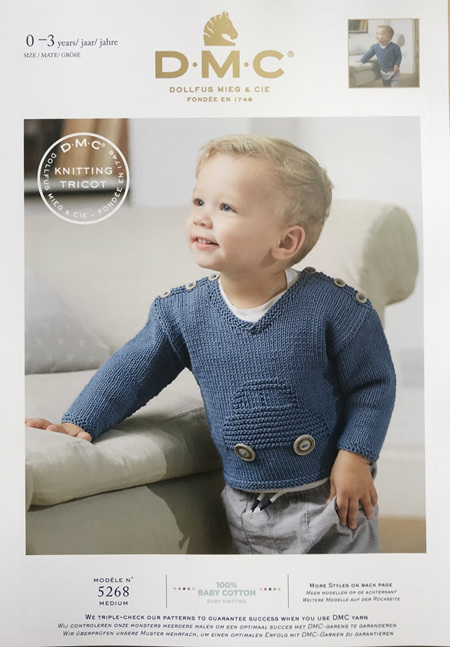 DMC Baby Cotton Car Sweater 5268
