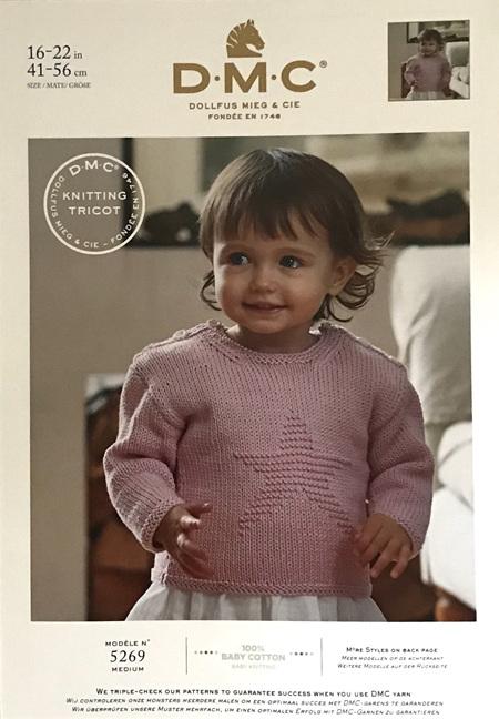 DMC Baby Cotton Star Sweater 5269