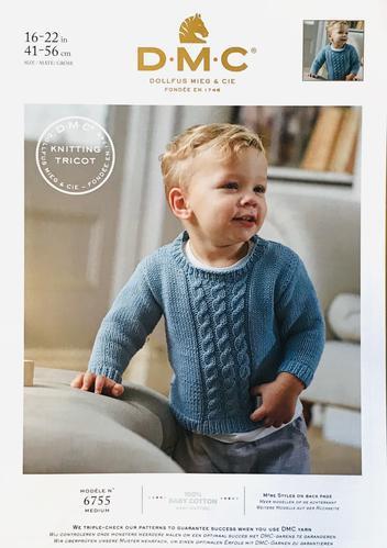 DMC Baby Cotton Sweater Tank Top 6755