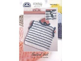 DMC BABY NAUTICAL VEST Pattern