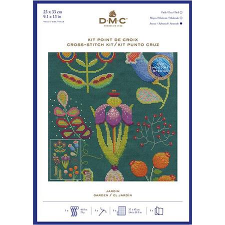 DMC Garden Cross-Stitch Kit