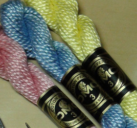 DMC Pearl 3 Cotton Hanks