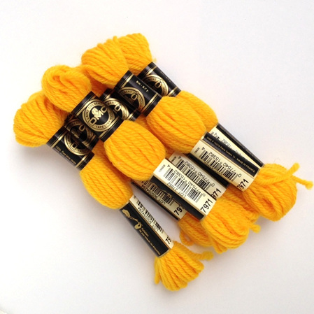 dmc tapestry wool skeins