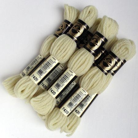 dmc tapestry wool skeins