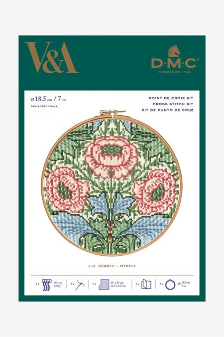 DMC V&A Myrtle Hoop Kit