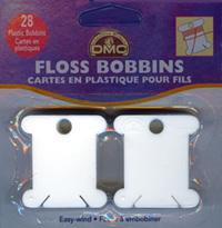 DMF6102/12   DMC Plastic Floss Bobbins