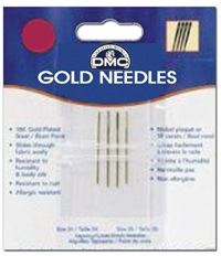 DMF6126.6   DMC Gold Plated Needles