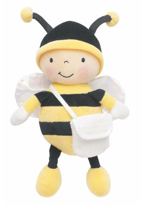 DMFGN080L   Soft Toy - Bee