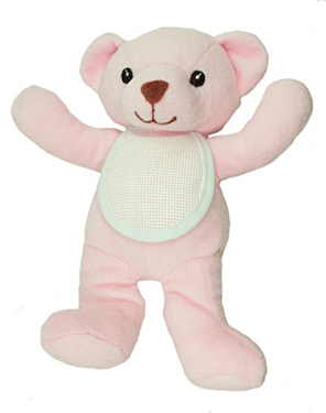 DMFGN112L   Soft Toy - Pink Bear
