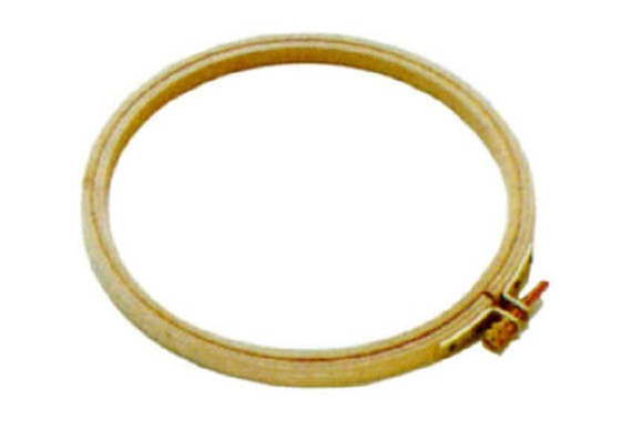 DMFMK0024   Wooden Embroidery Hoop 125mm