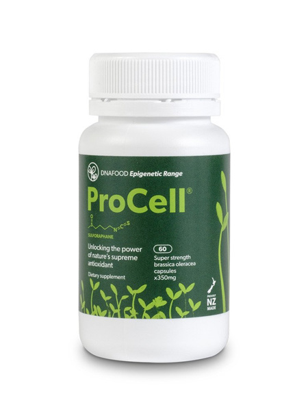 DNA Food ProCell Broccoli Sprout Powder Capsules