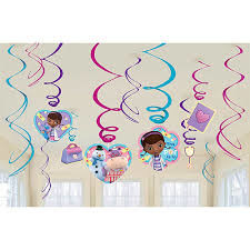 Doc McStuffins - Foil Swirls
