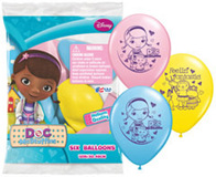 Doc McStuffins Printed Latex Balloons - pack of 6