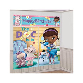 Doc McStuffins Scene Setter Wall Decorating Kit - 5 piece