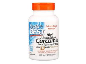 DOCTOR'S BEST CURCUMIN TURMERIC 120C EXP:8/21
