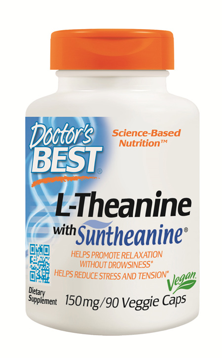 Doctor's Best LTheanine with Suntheanine 150mg  90 capsules