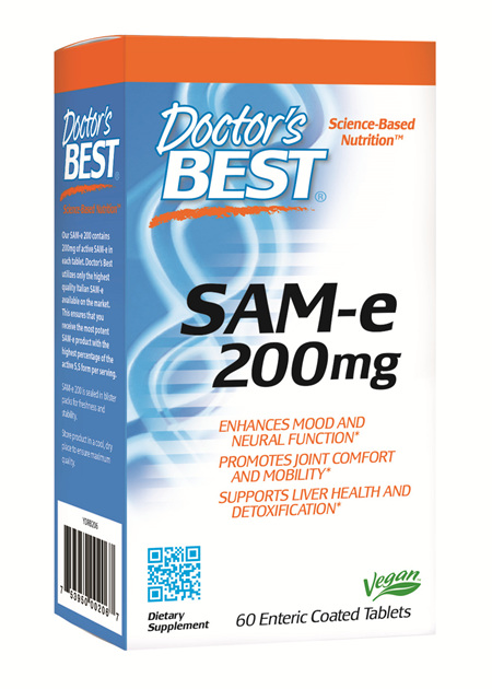 Doctor's Best SAMe 200mg  60 capsules