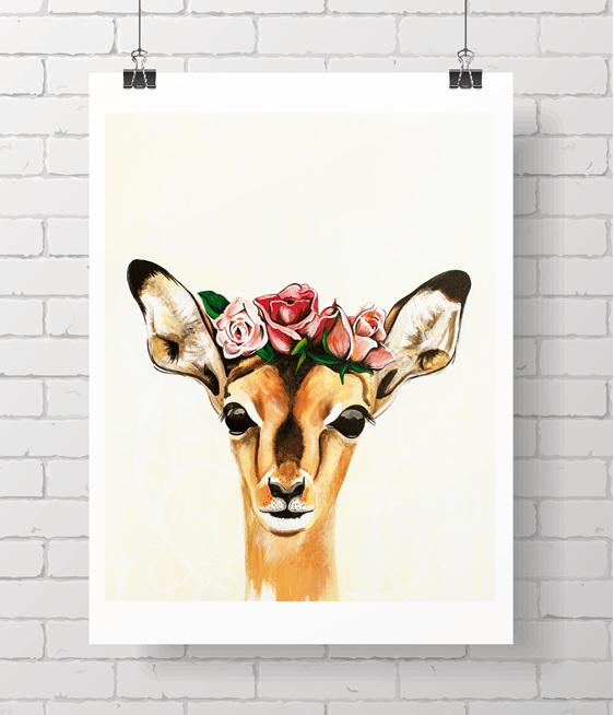 doe - rose crown