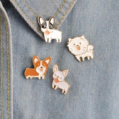 Dog Pin Badge