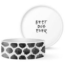 Dog Bowl - Brush Spots - Large