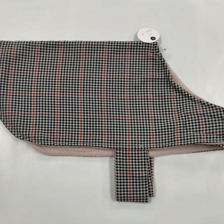 Dog Coat - Plaid/Checked - Medium
